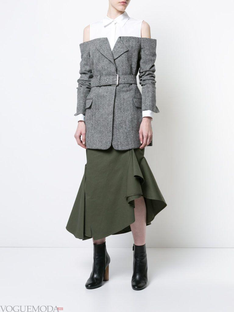 креативный уличный лук с пиджаком