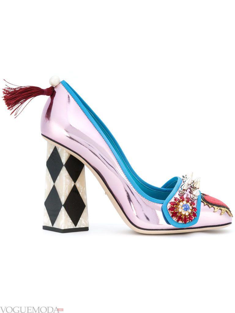 модные уличные яркие туфли