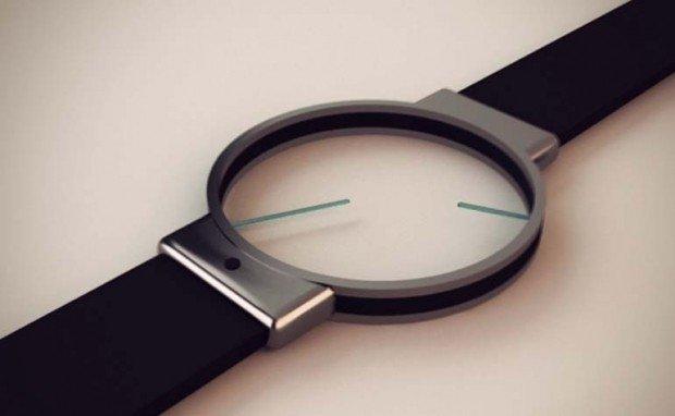 часы молодежные прозрачный циферблат