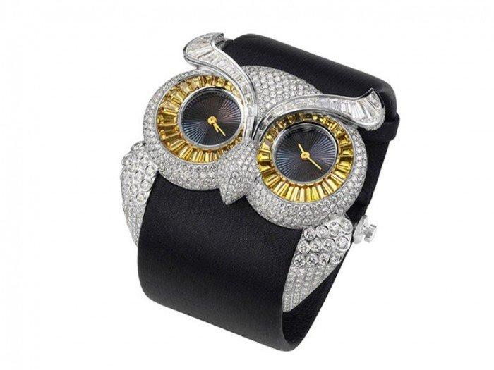 часы молодежные: форма совы ремень каучук