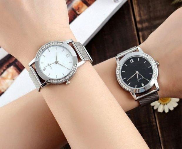женские часы: классические светлые темные