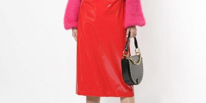 Красная юбка: с чем носить? Советы по выбору. Фото