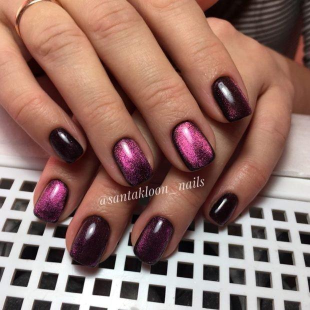 глубокий фиолетовый