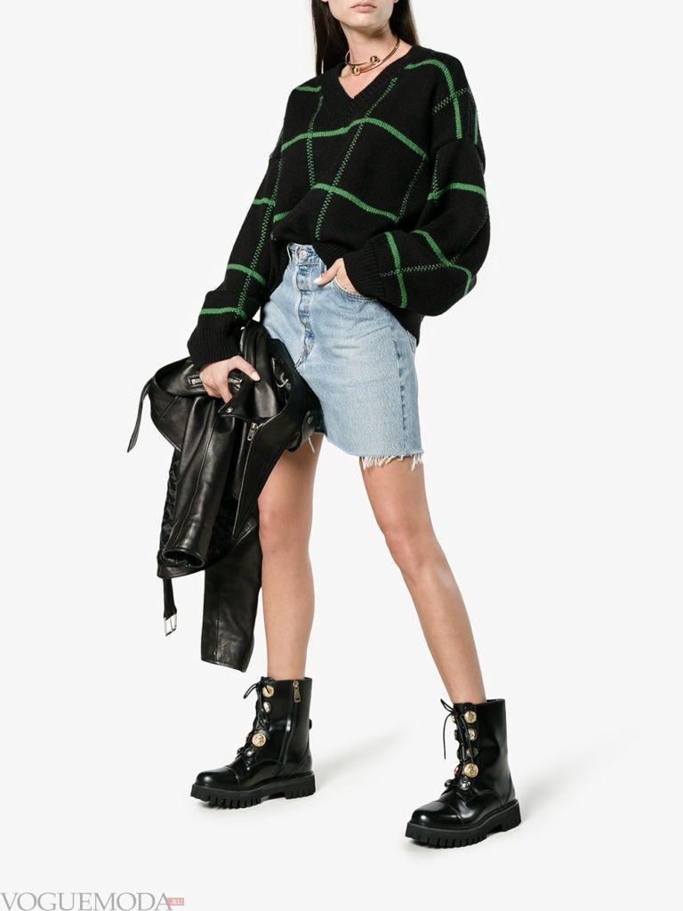 байкерские ботинки модные