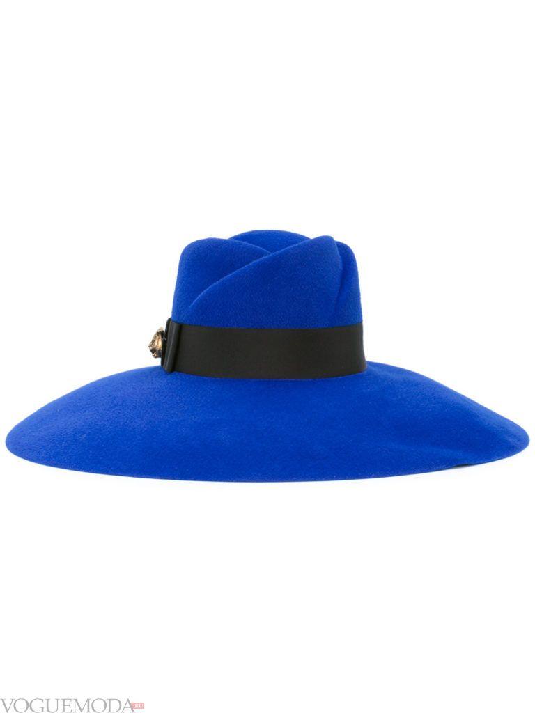 шляпа яркая