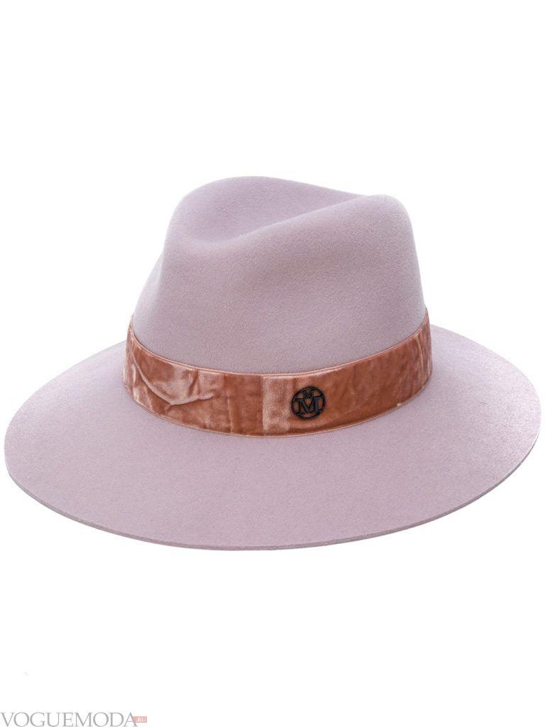 нюдовая шляпа