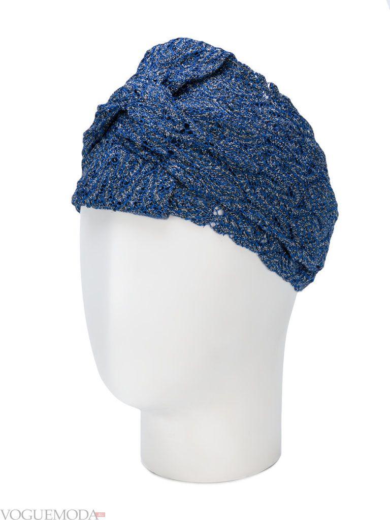 синяя повязка