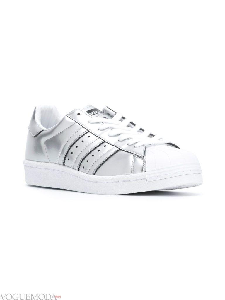 кеды Adidas серые