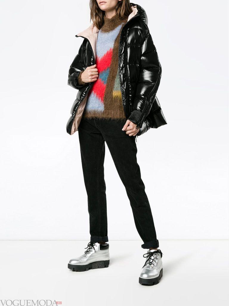 спортивная куртка на синтепоне темная