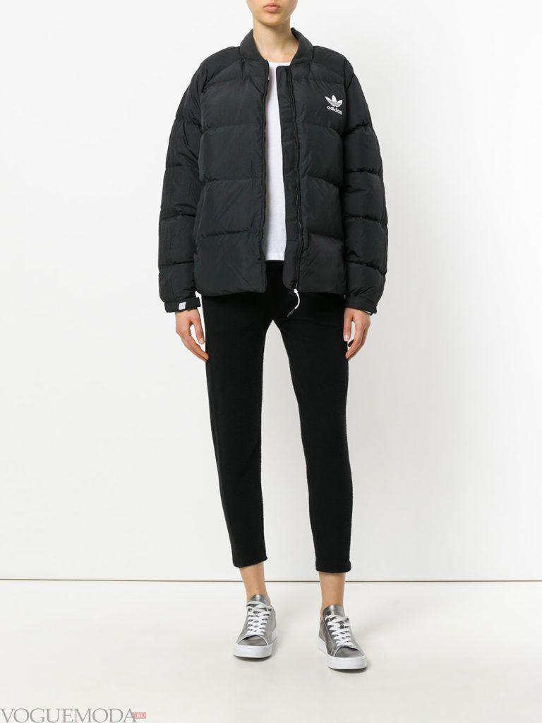 спортивная куртка на синтепоне модная