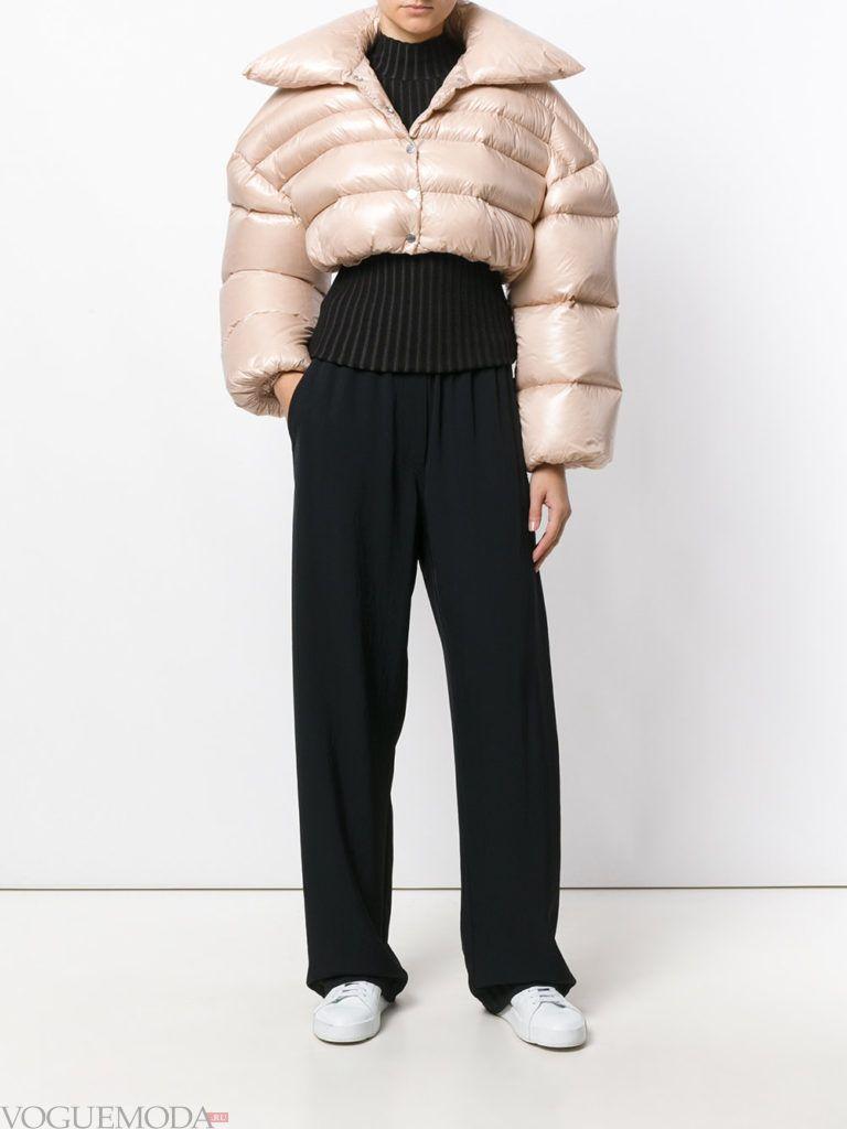 куртка на синтепоне модная