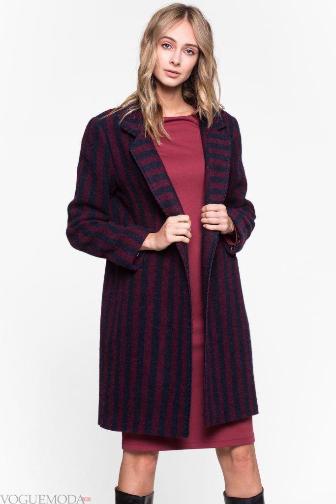 пальто в стиле милитари модное