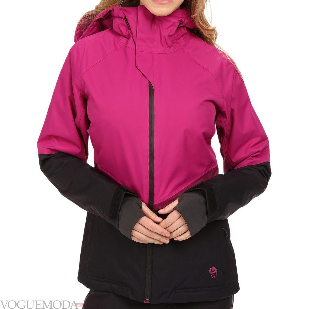 лыжная куртка яркая