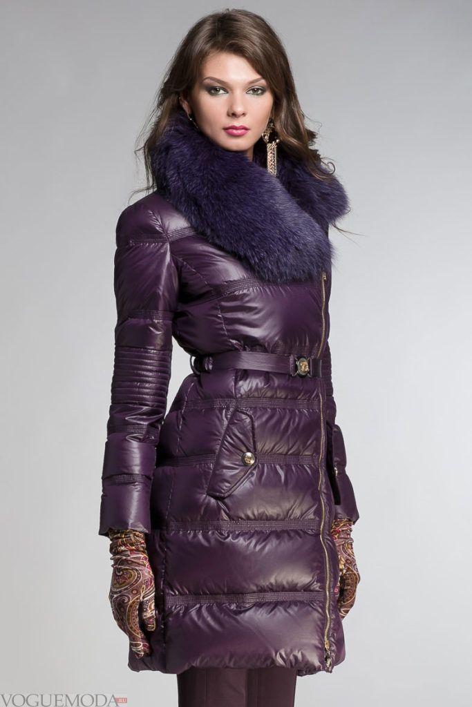 пуховик от Versace цветной