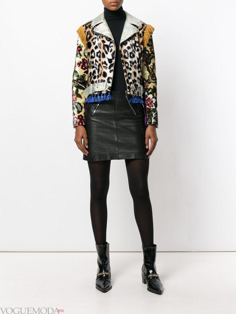 куртка хищной расцветки модная
