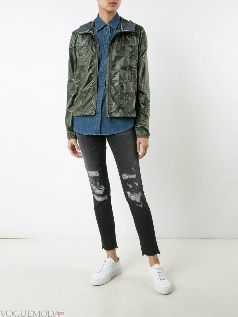 куртка-ветровка камуфляж