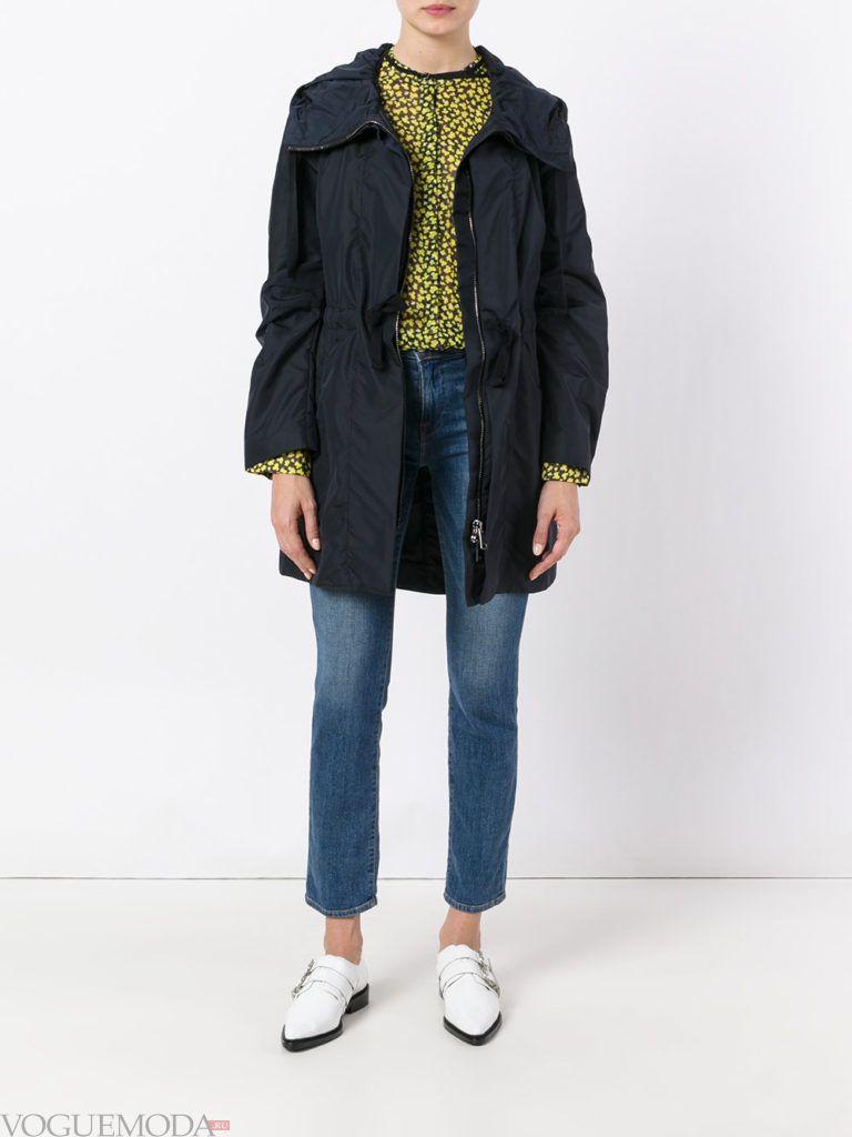 куртка-ветровка черная