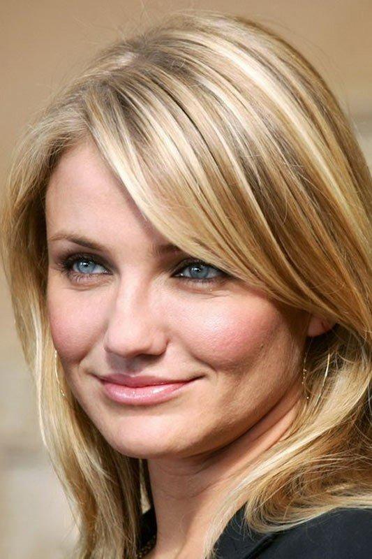 мелирование на средние волосы для блондинок