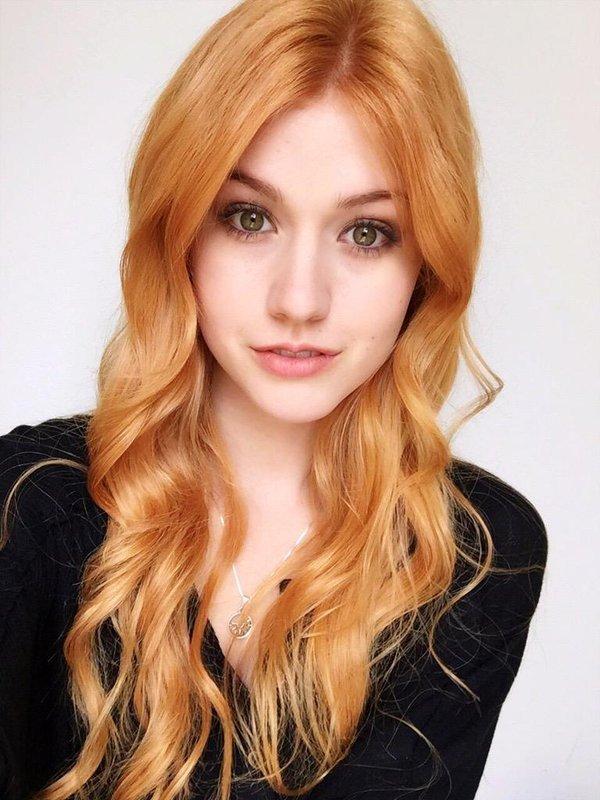 оттенок «клубничная» блондинка светлый