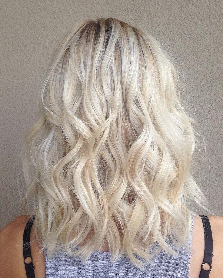 оттенок «натурального» блонда пепельный