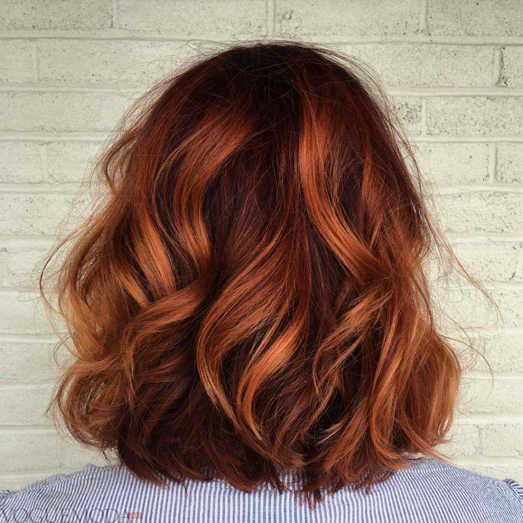 рыжий цвет волос натуральный