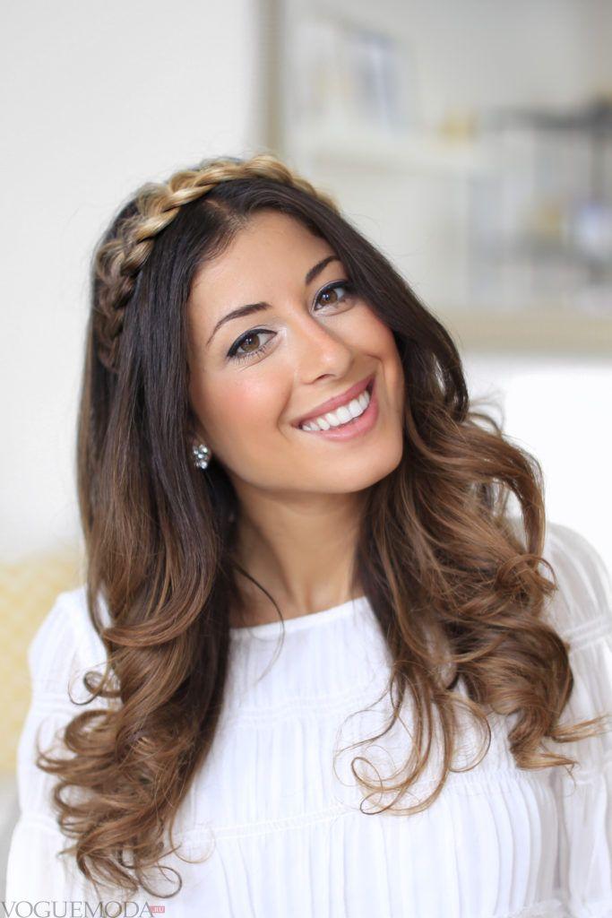модное окрашивание 2018 на средние волосы женские градиент