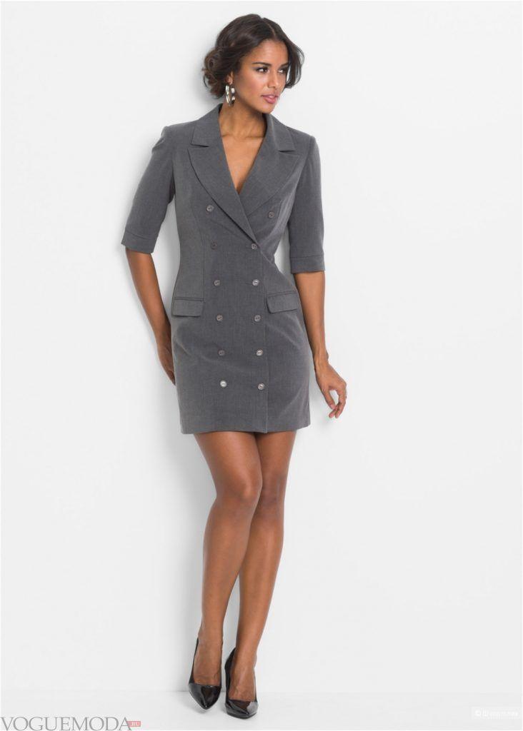 платье-пиджак модное