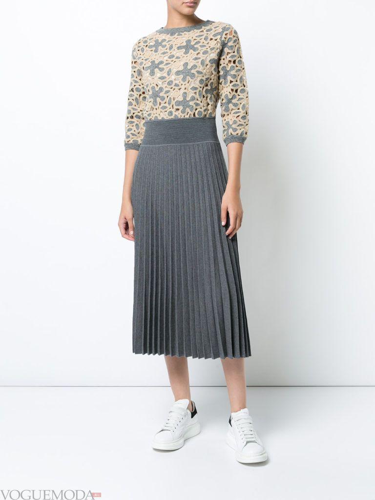 офисное модное теплое платье