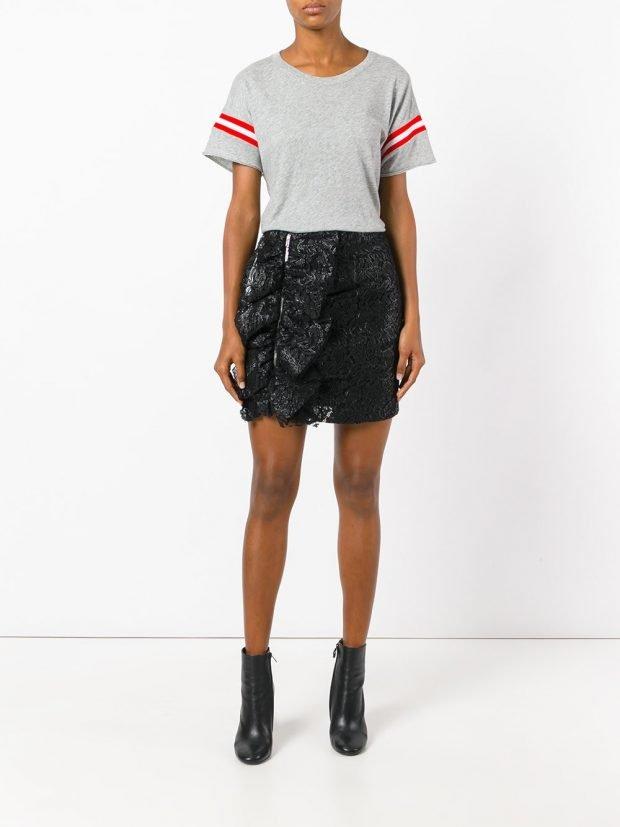 юбка лето 2021: черная