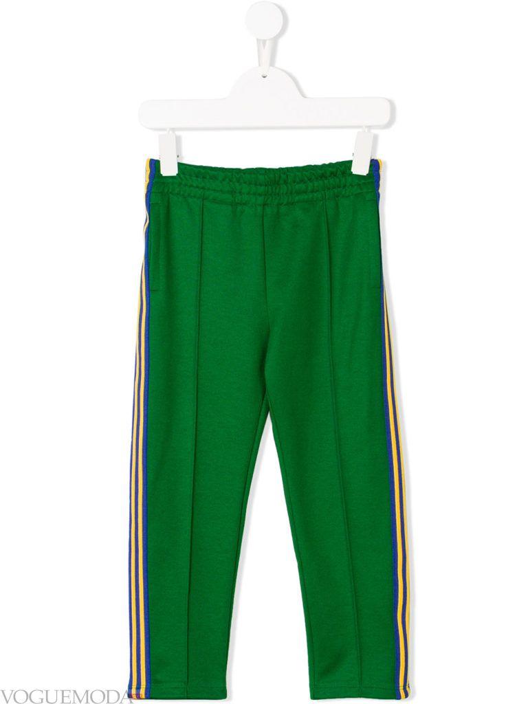 детские спортивные брюки с лампасами