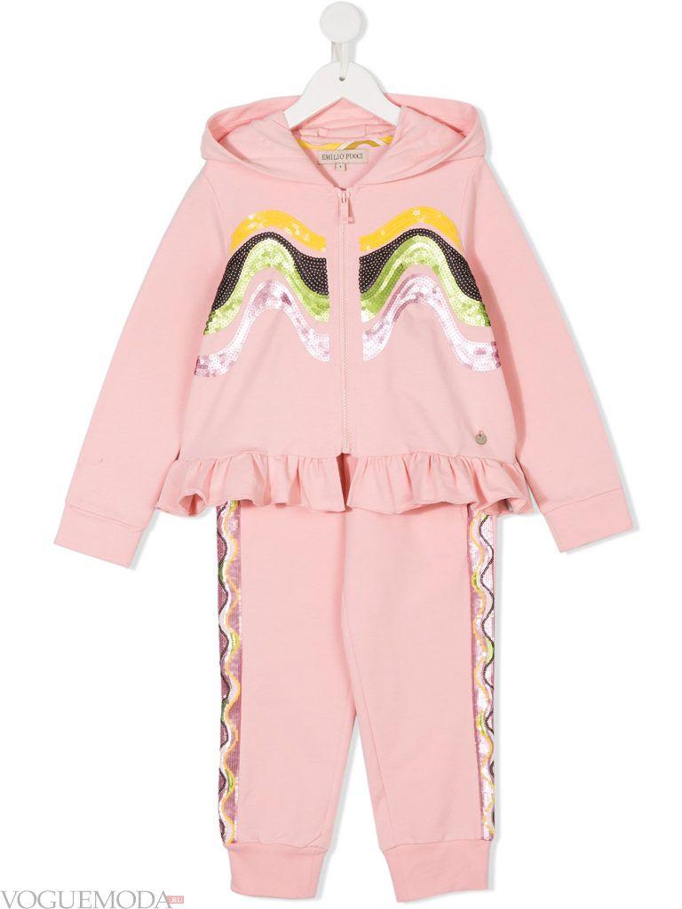 детский осенний спортивный костюм