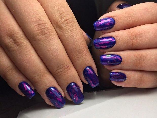 фиолетовый битое стекло