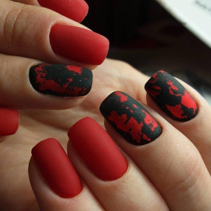 красно-черный
