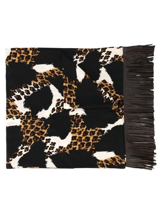 шарф с хищным принтом