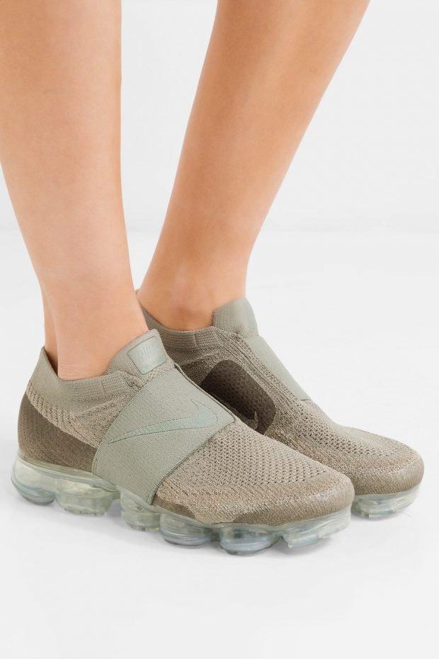 оливковые кроссовки