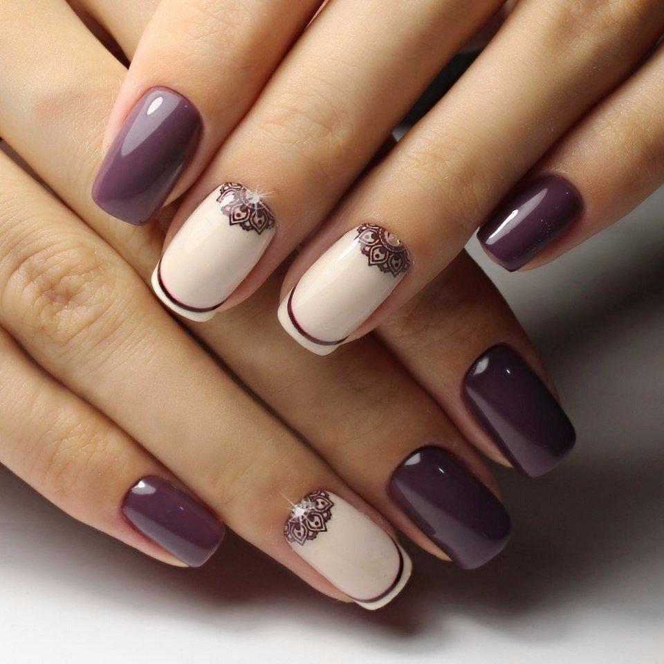 Модные цвета гель лака для ногтей в 2018 году фото
