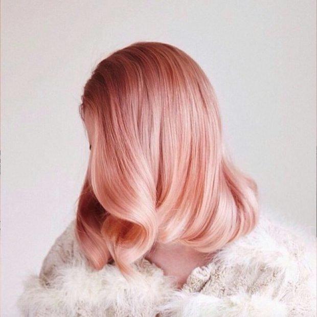 волосы клубничный блонд