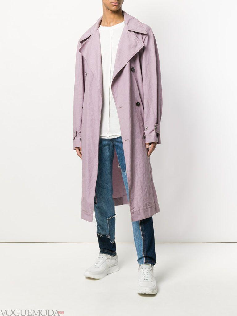 мужское пальто весна светлое