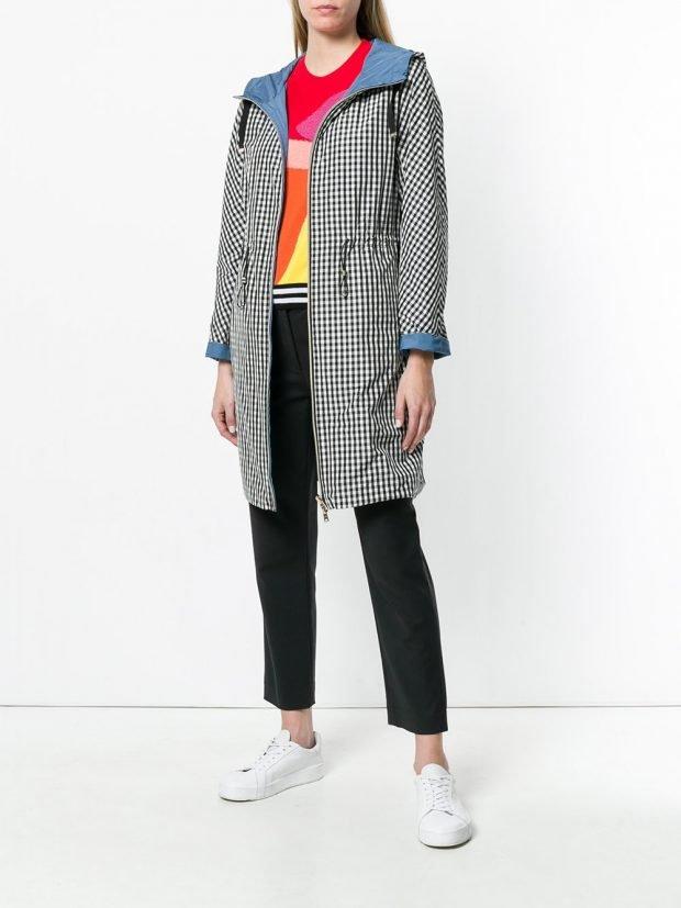 серое пальто куртка