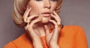 женская стрижка «Сессон» на средние волосы