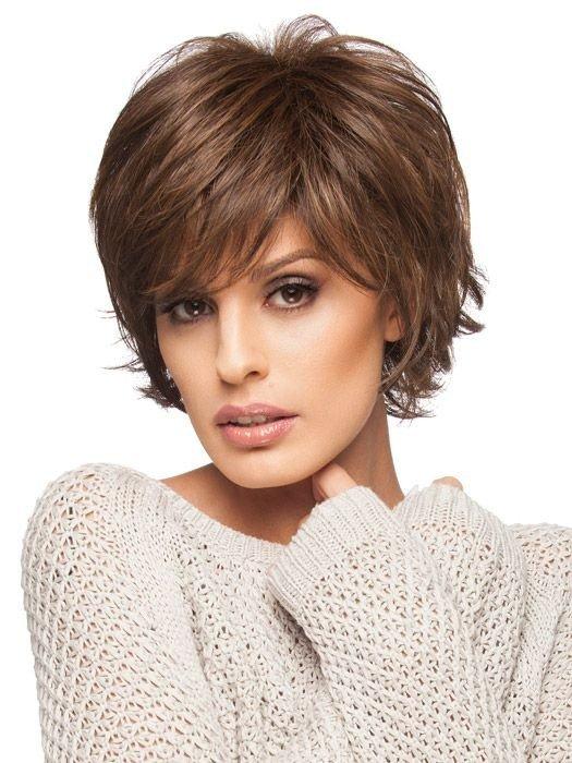 женская стрижка «Итальянка» на короткие волосы