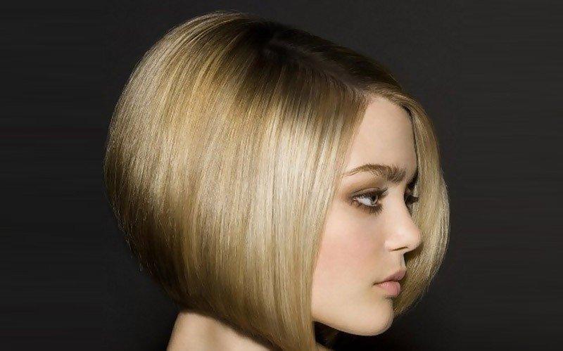 Каре для русых волос