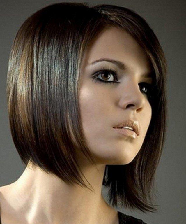 Каре для темных волос