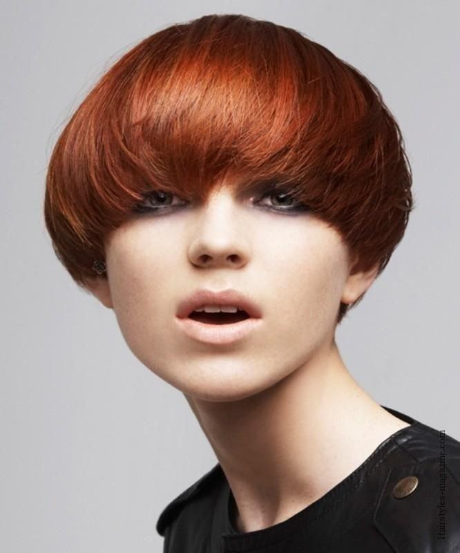 Паж для рыжих волос