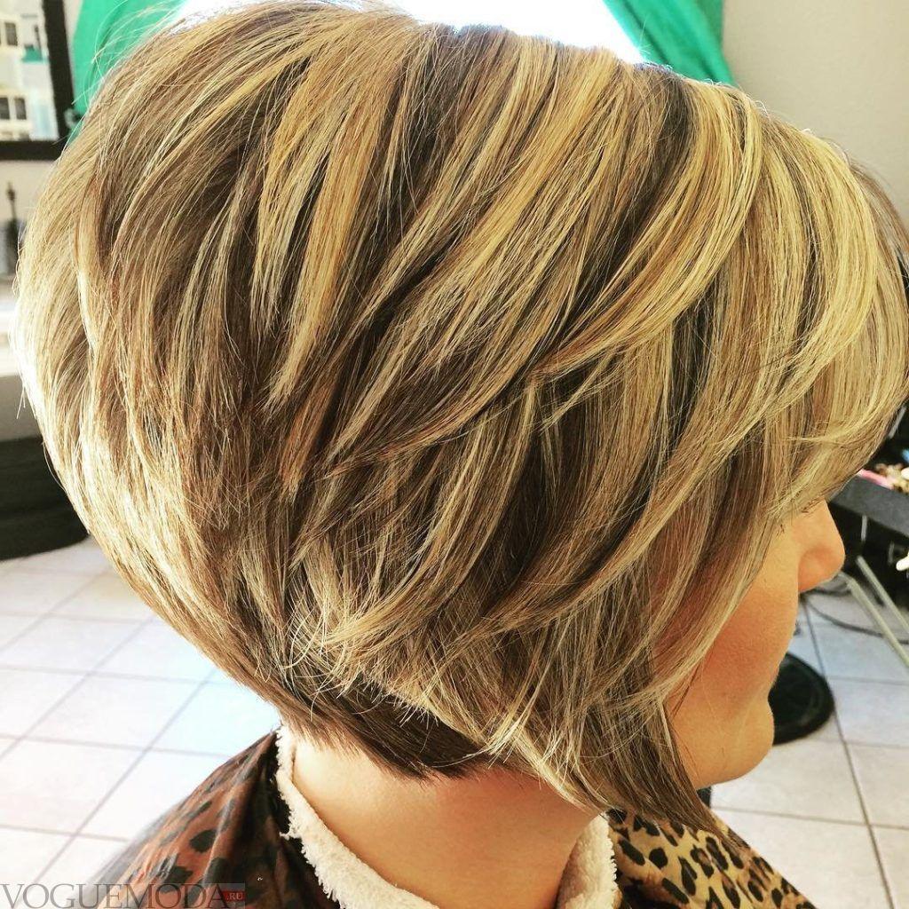 Боб-каре для светлых волос