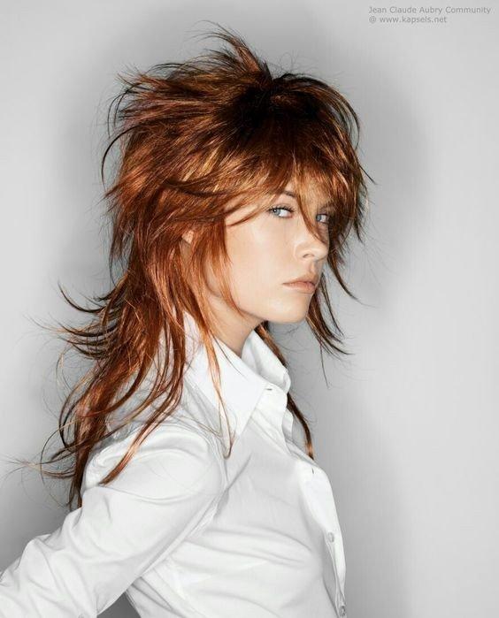 Гаврош на длинные волосы