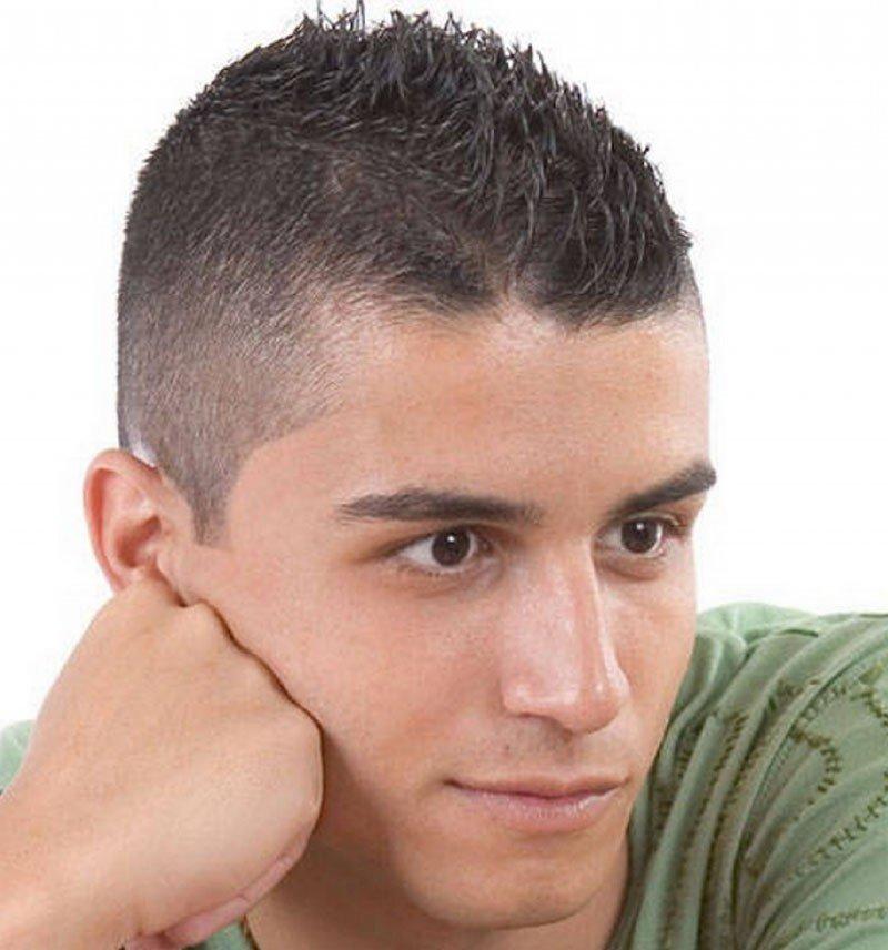 мужская стрижка «Ежик»