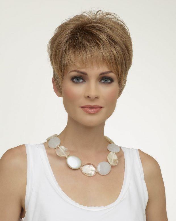 стрижка Шапочка для русых волос