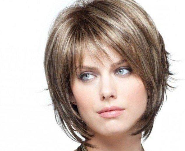 стрижка Боб-каре для русых волос