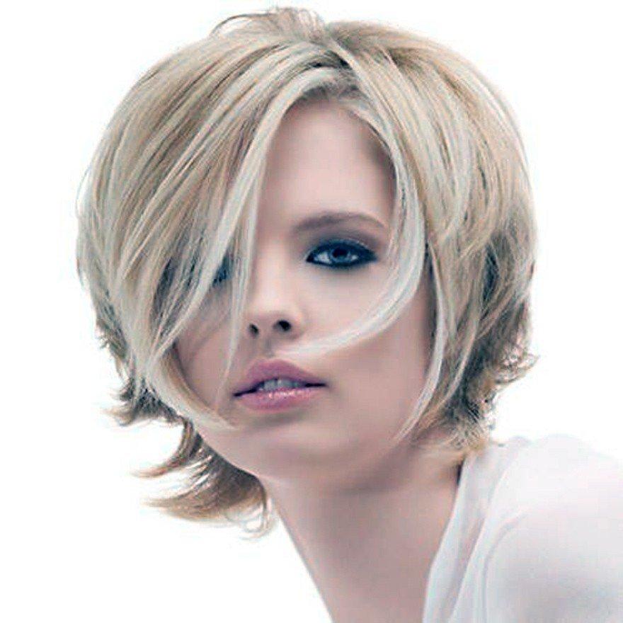 стрижка «Каскад» на короткие волосы